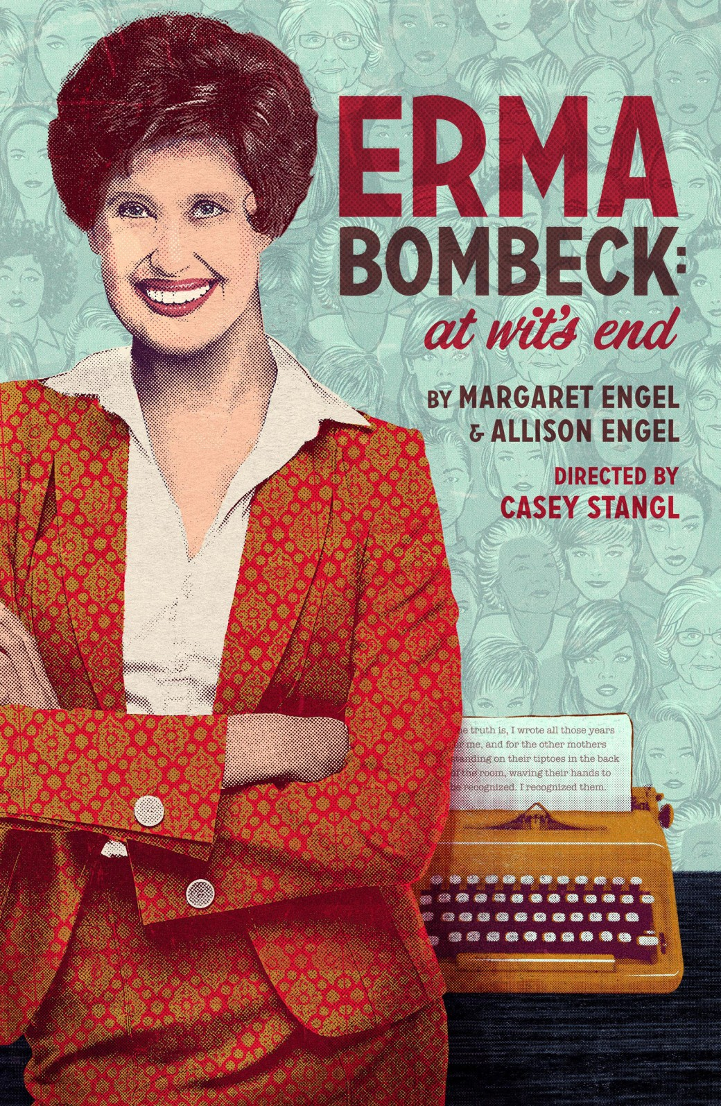 Erma Bombeck Poster