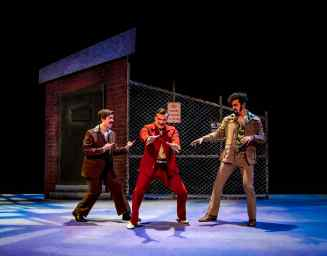 Pablo (Tony Moreno), Curtis (Zach Zupke) and Joey (Tristan Caldwell)