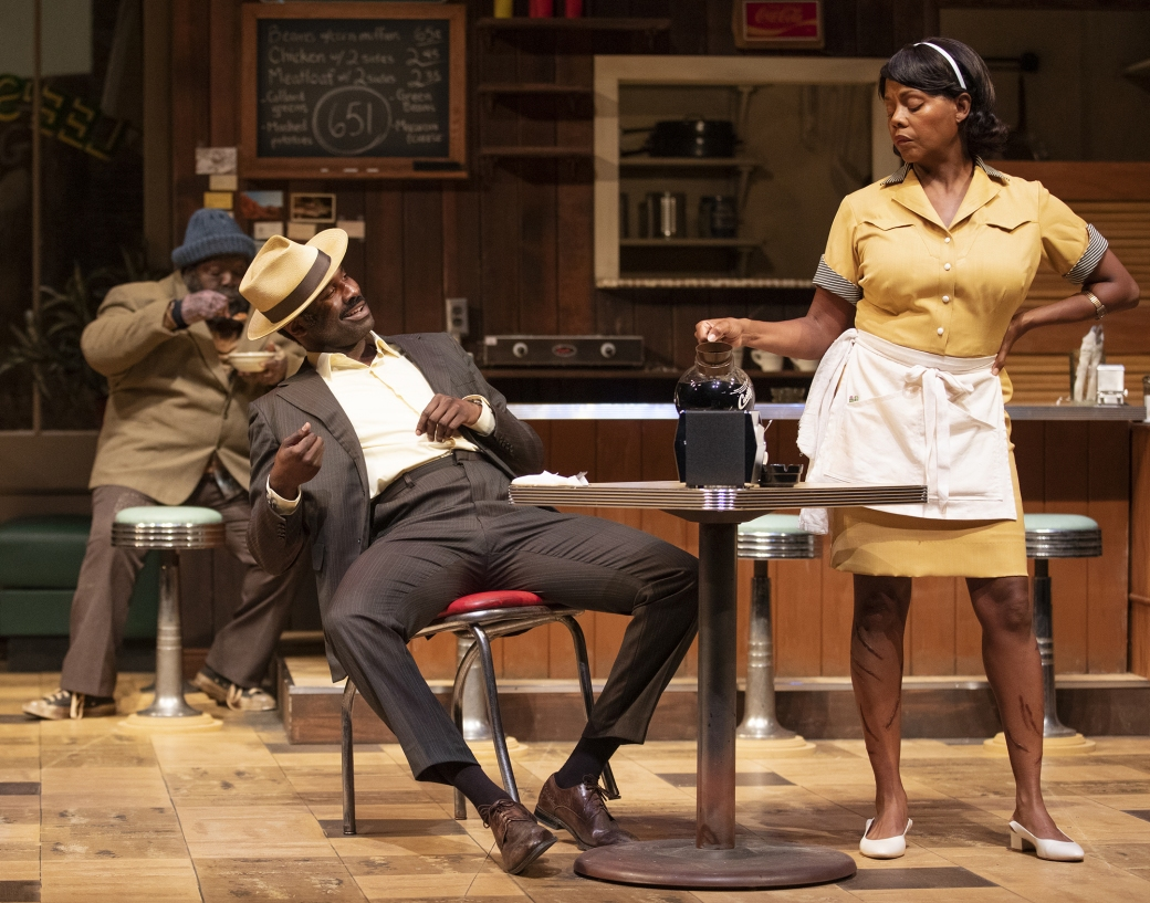 Ahanti Young, Cedric Mays, and Erika LaVonn. Photo courtesy of Arizona Theatre Company.