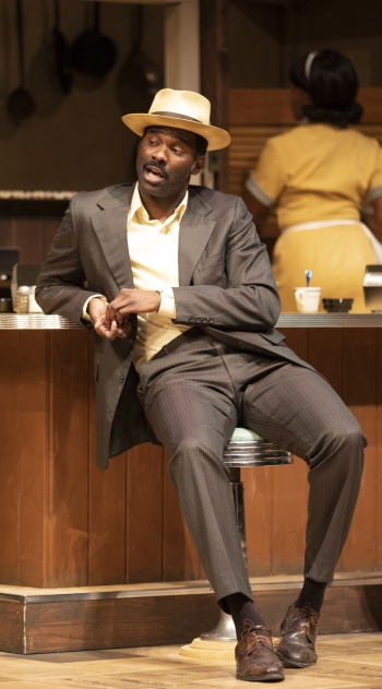 Cedric Mays as Sterling. Photo courtesy of Arizona Theatre Company.