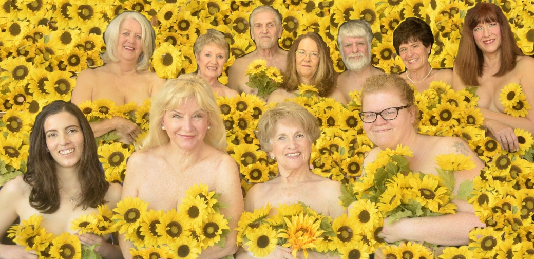 The cast of Calendar Girls. Photo courtesy of the St. Francis Theatre.