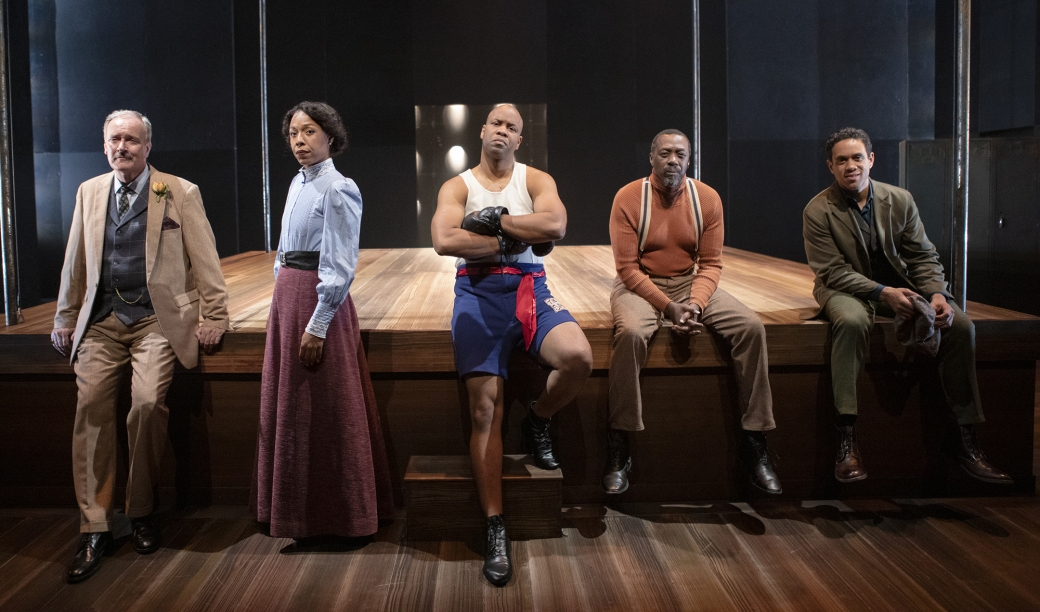 The cast of the Royale. Photo by Tim Fuller, courtesy of Arizona Theatre Company.